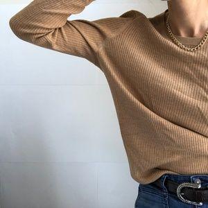 VTG⫸ lightweight merino knit pullover
